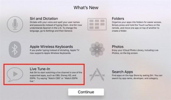 【苏州APP开发】苹果今天为新款Apple TV推出新功能