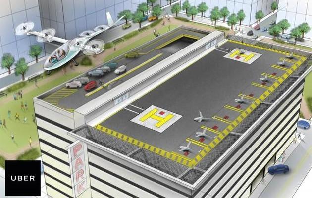 【软件外包】Uber想在未来10年内实现城市空中交通
