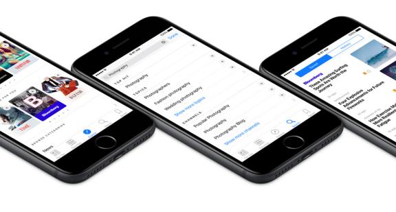 【苏州APP开发】新AppleNews浏览量暴增,新闻APP能借鉴些什么?